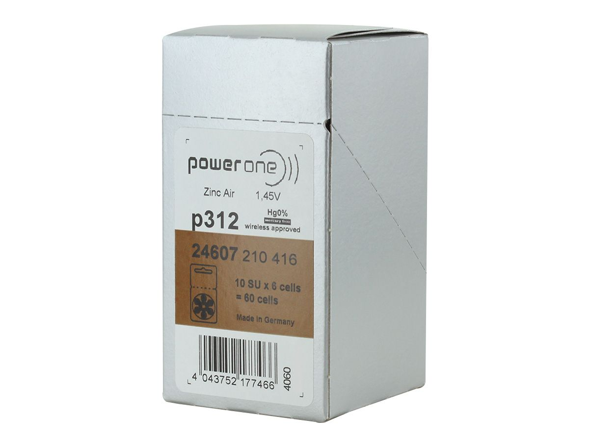 Shipping packaging for Powerone P312 battery