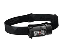 Princeton Tec Axis Rechargeable LED Headlamp - 450 Lumens - 1 x Maxbright and 2 x Red LED - Uses Built-In Li-ion Battery Pack