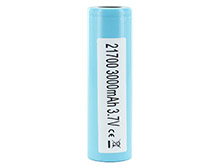 Samsung 33J 21700 3.6V 3300mAh 3.2A Flat Top Battery - Flat Top