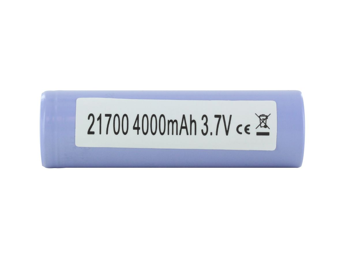 Samsung 40T 21700 Battery horizontal