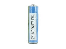 Samsung 50E INR 21700 5000mAh 3.7V Protected High-Drain 10A Lithium Ion (Li-ion) Protected Button Top Battery