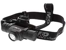 Smith and Wesson M&P Night Terror Headlamp - 2000 Lumens - Includes USB Rechargeable LI-ion Battery