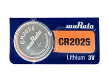 Murata CR2025 160mAh 3V Lithium (LiMnO2) Coin Cell Watch Battery - 1 Piece Tear Strip, Sold Individually