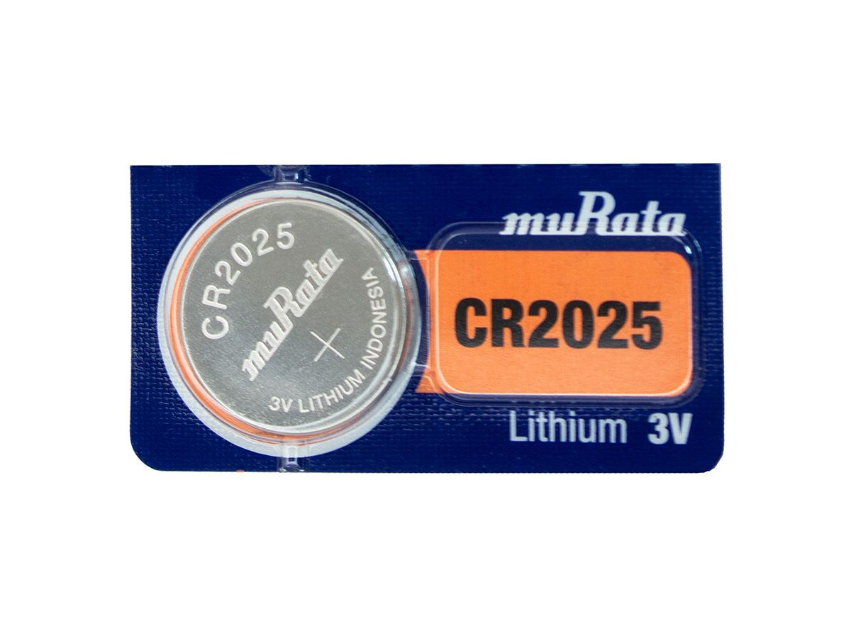 murata cr2025 1 pc tear strip
