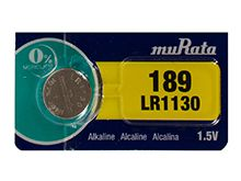 Murata LR1130 1.5V 70mAh Alkaline Coin Cell Battery - 1 Piece Tear Strip