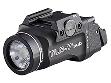 Streamlight TLR-7 Sub Ultra-Compact LED Weapon Light - 500 Lumens - Includes 1 x CR123A with Mounting Kit and Key - Available in 3 Models