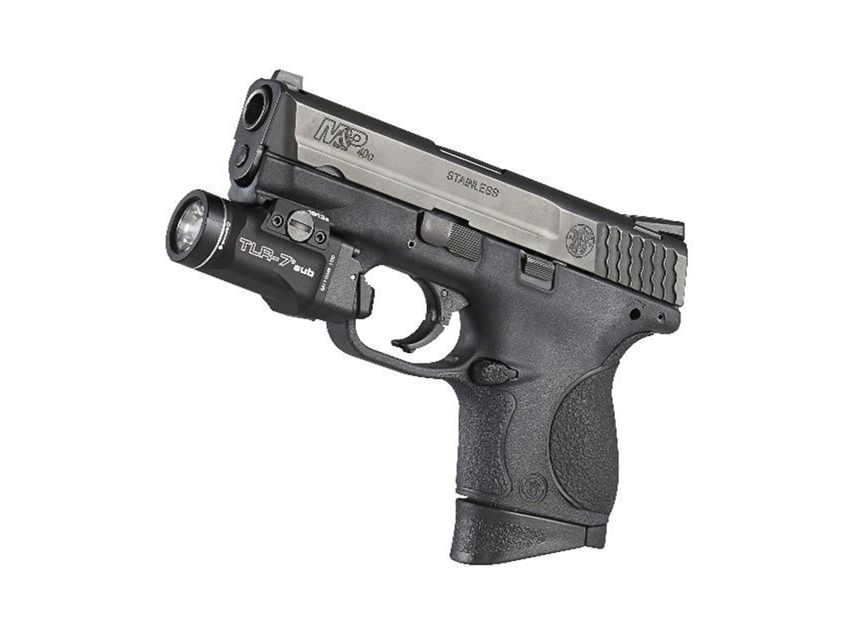 streamlight tlr-7 1913 model mounted on weapon