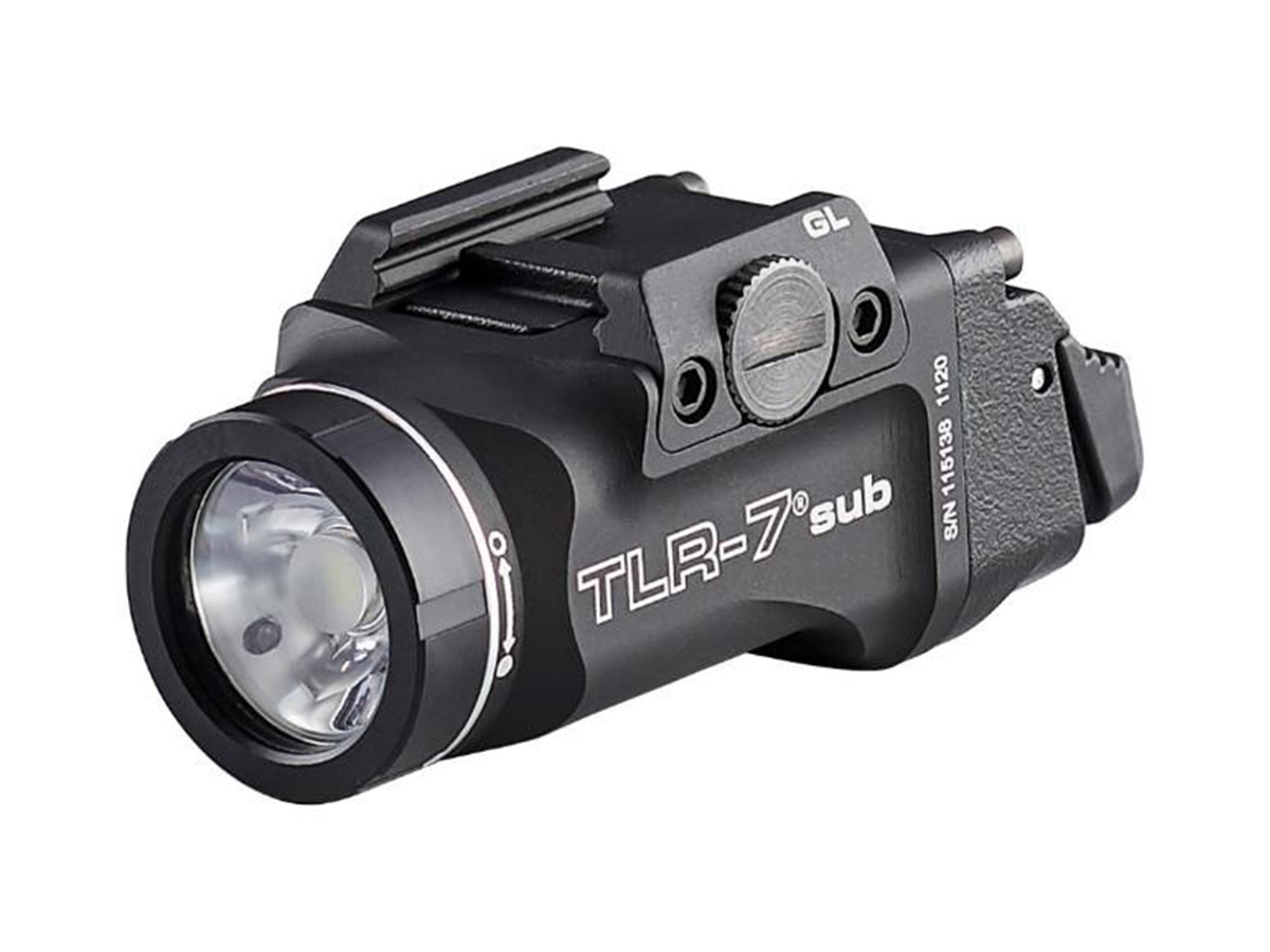 streamlight tlr-7 sub ultra compact at an angle