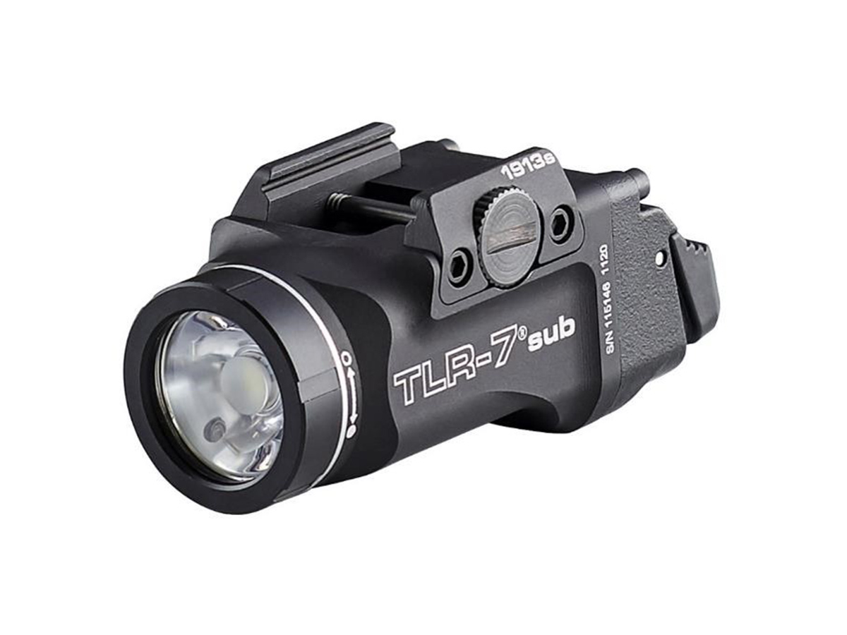 streamlight tlr-7 1913 model at an angle