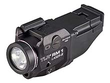 Streamlight TLR RM 1 LED Weapon Light System - 500 Lumens - 640-660nm Red Laser - Includes 1 x CR123A - Box - Black - Key Kit (69446) or Additonal Accessories (69445)