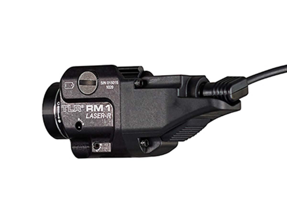 TLR RM 1 plugged in