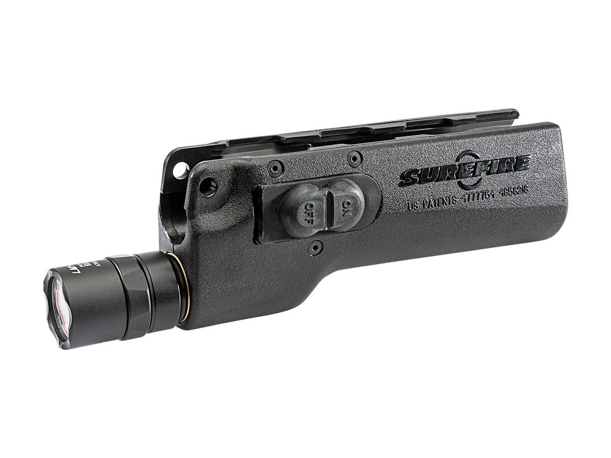 328LMF-B compact LED forend - Black