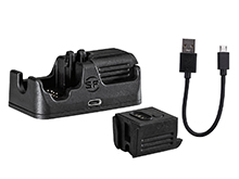 SureFire CH21 Charging Cradle for the XSC Series Lights - Includes 1 x B12 Battery and Cable