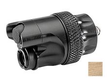 SureFire DS00 Waterproof Dual Tail Switch Assembly for Scout Light Weapon Lights - Available in Black or Tan