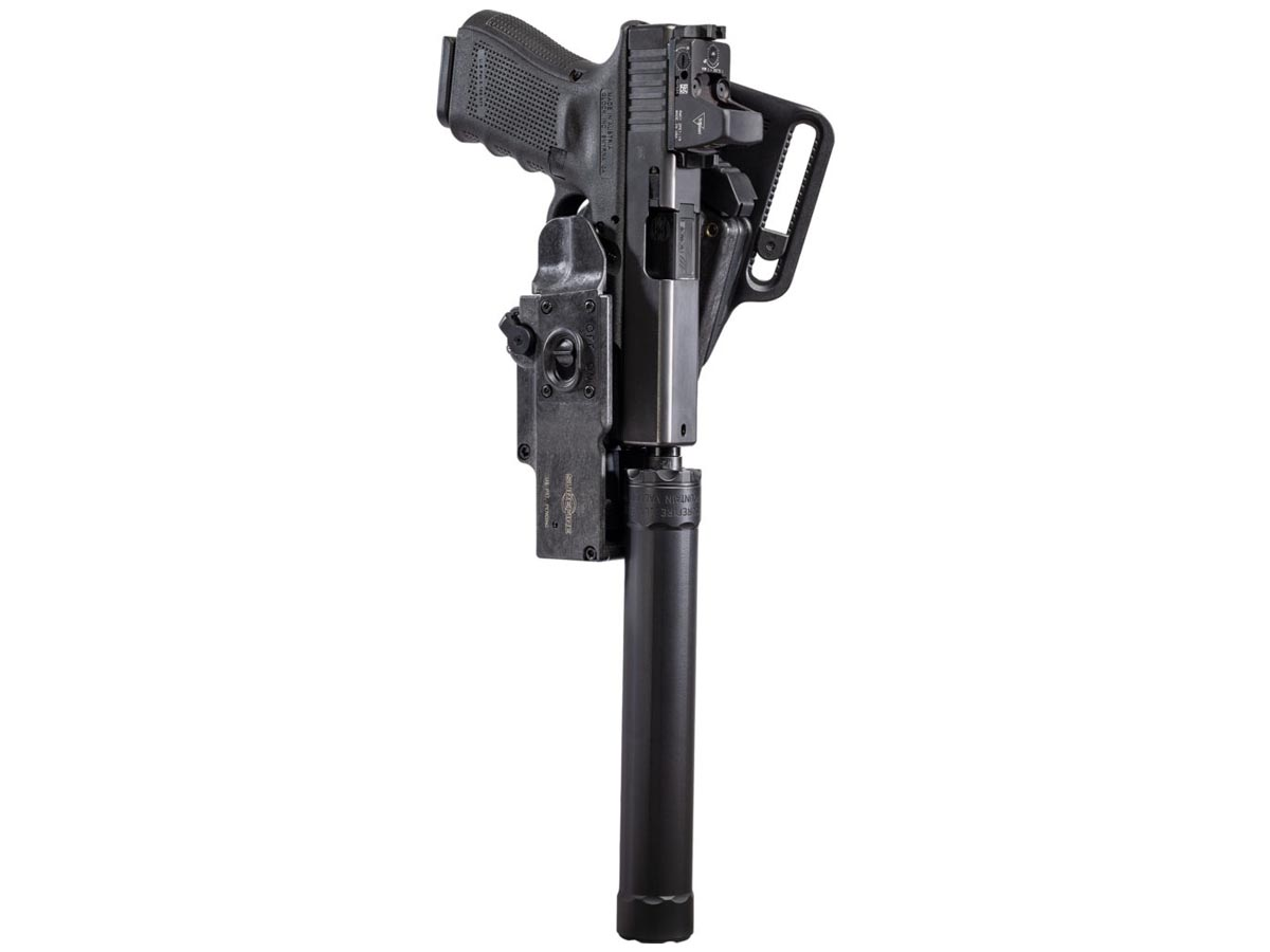 SureFire HD1 PRO Masterfire Rapid Deploy Holster - Weapon Mounted 3