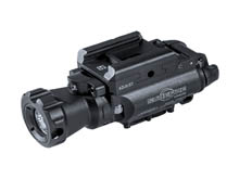 SureFire XH55R Red Laser LED Weapon Light - 1000 Lumens - 635nM - Includes 2 x CR123A