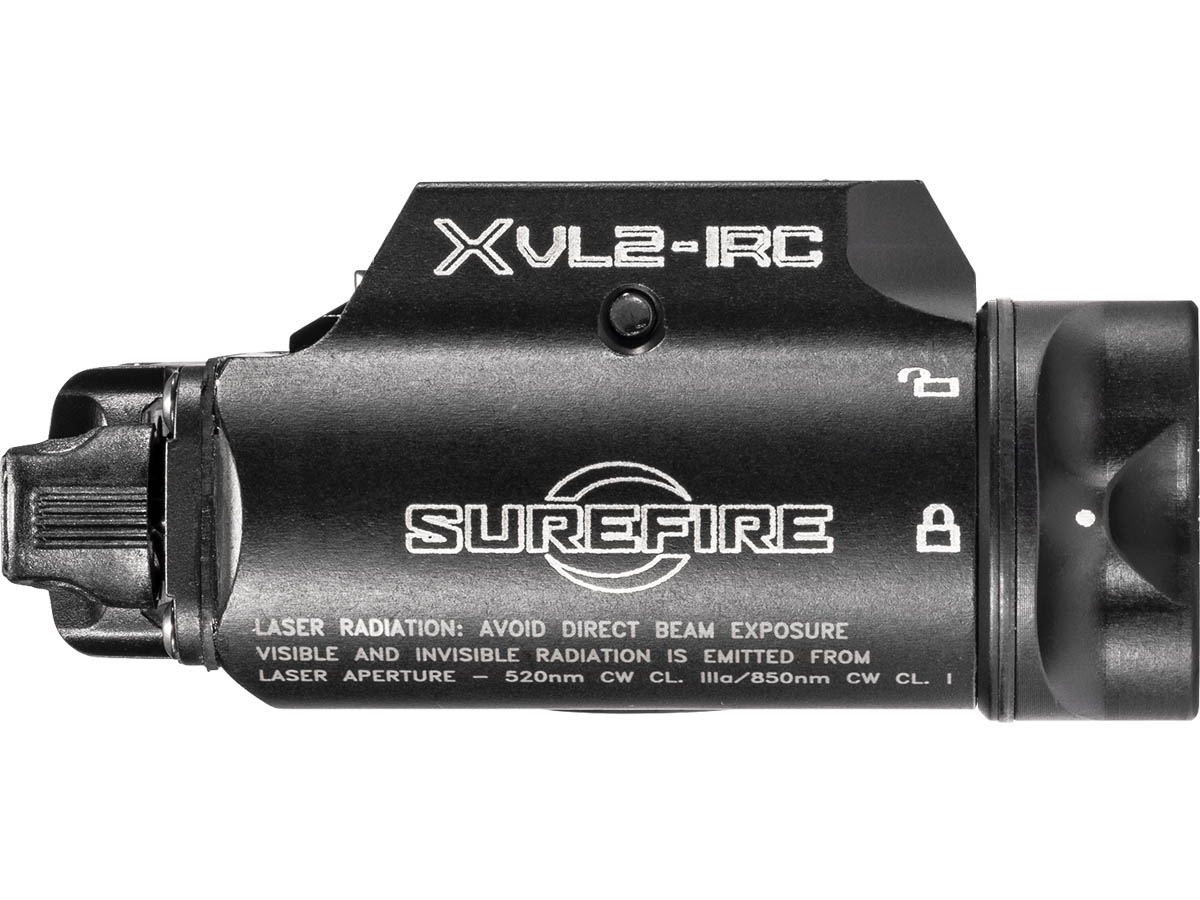 SureFire XVL2-IRC White and IR LED Weapon Light
