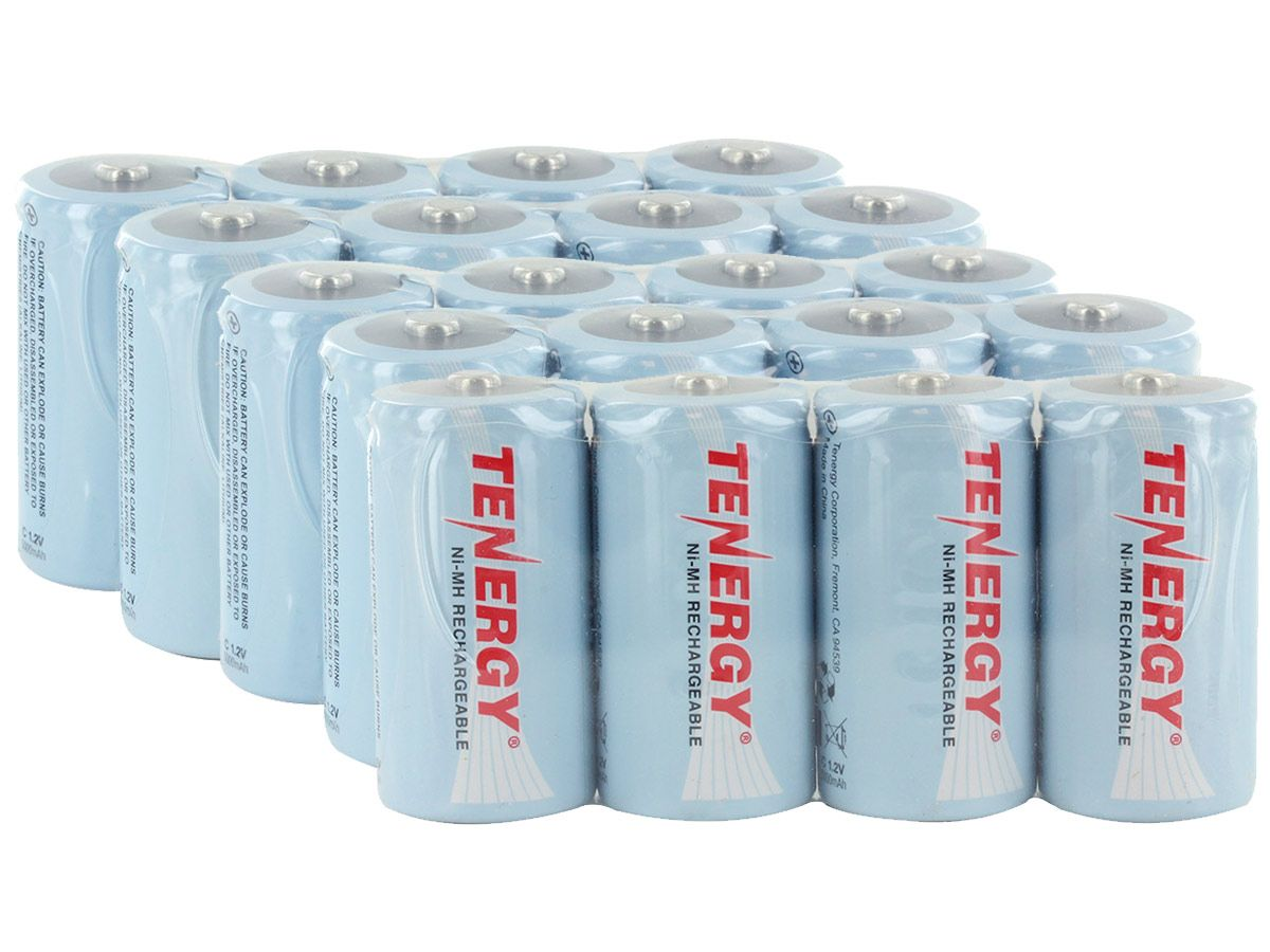 Tenergy 10200 C cell 20 pack