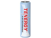 Tenergy 10342 AA 2500mAh 1.2V Nickel Metal Hydride (NiMH) Low Self Discharge Button Top Battery - Bulk