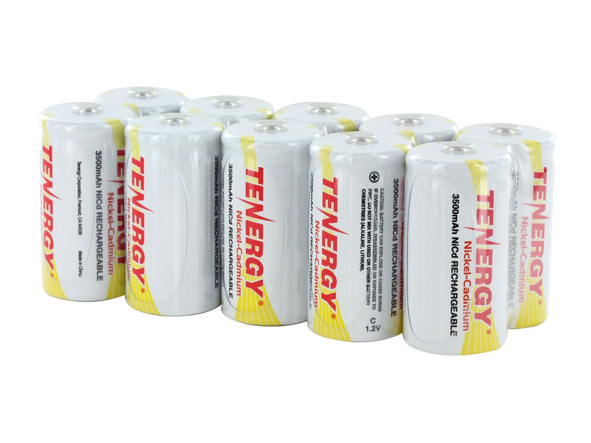 tenergy 20400 c cell 10 pc out of box