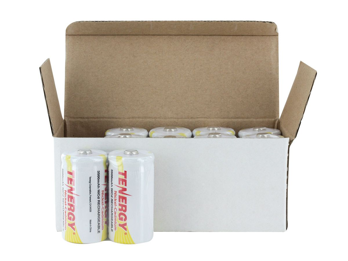 tenergy 20400 c cell bulk box with 2pc shrink out of box