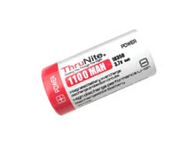 ThruNite 18350 1100mAh 3.7V Protected Lithium Ion (Li-ion) Button Top Battery