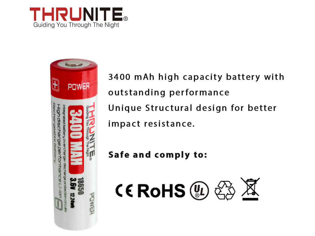 thrunite slide about batterys certifications