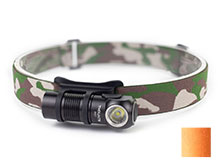 ThruNite H01 Rechargeable LED Headlamp - 687 Lumens - CREE XP-G3 - Includes 1 x 16340 - Black or Orange