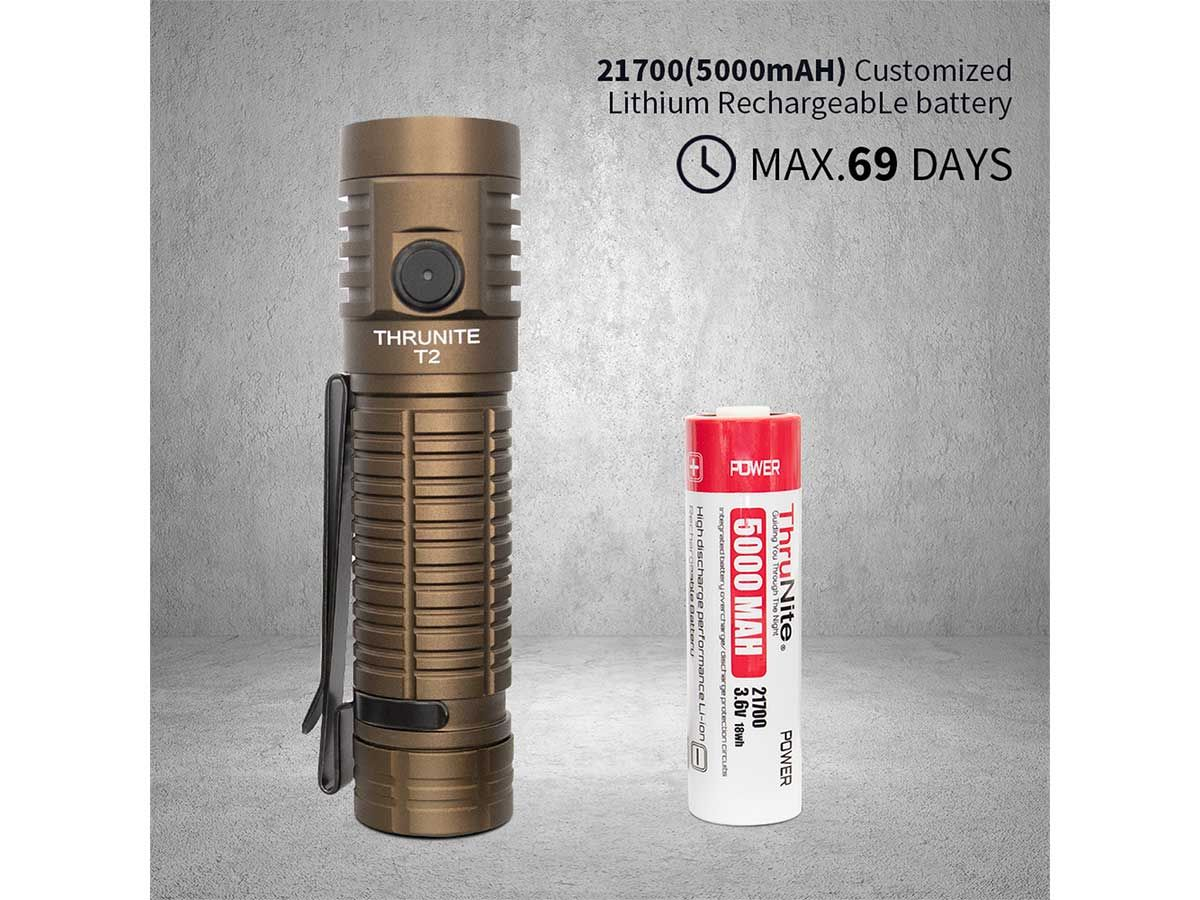 t2 tan with included battery