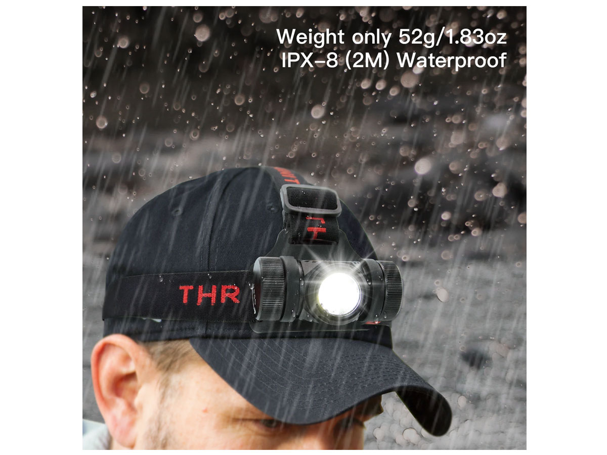 thrunite th02 in use and weight listed