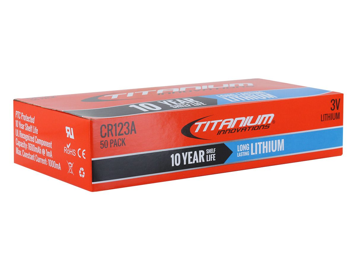 Titanium Innovations CR123A 200 bulk