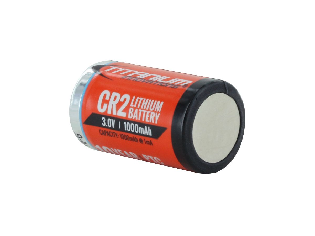 Titanium Innovations CR2 4 pack shrink wrapped