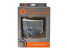 Ultimate Survival Technologies Camp Mosquito Net - Mesh Polyester for Insect Protection - Double Wide - White