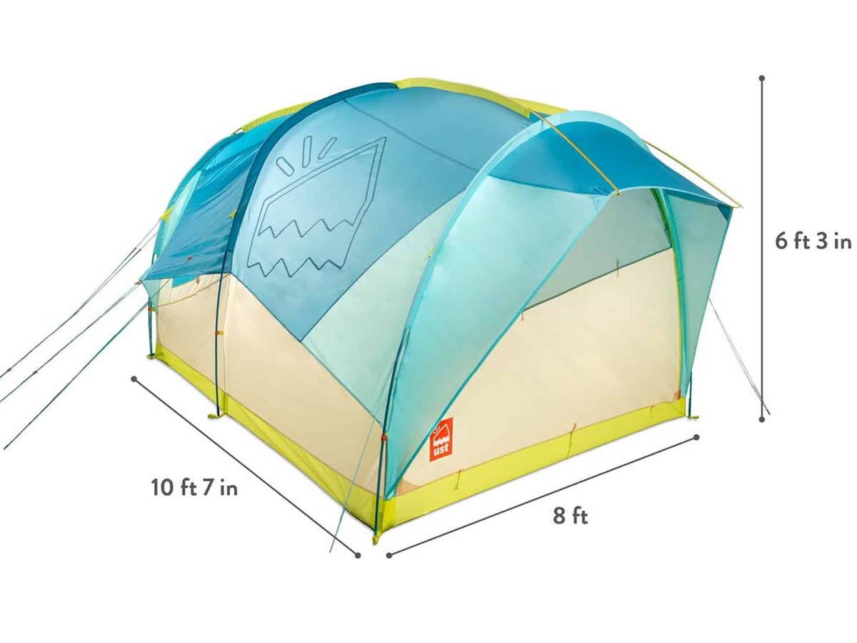 UST Ultimate Survival Technologies House Party 6 Person Car Camping Tent
