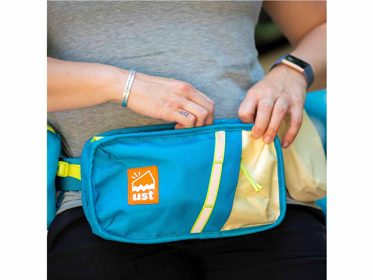 Swerve Hip Pack lifestyle photo