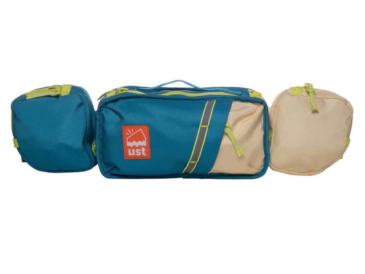 Swerve Hip Pack front with pouches