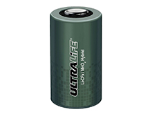 Ultralife UHR-XR26500 C-cell 3.3V 6.8Ah Hybrid Lithium Primary (Li-CFx / MnO2) Battery with End Caps - With or Without Tabs - Bulk