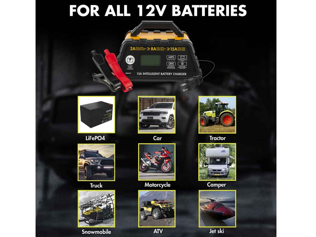 Intelligent Battery Charger applications