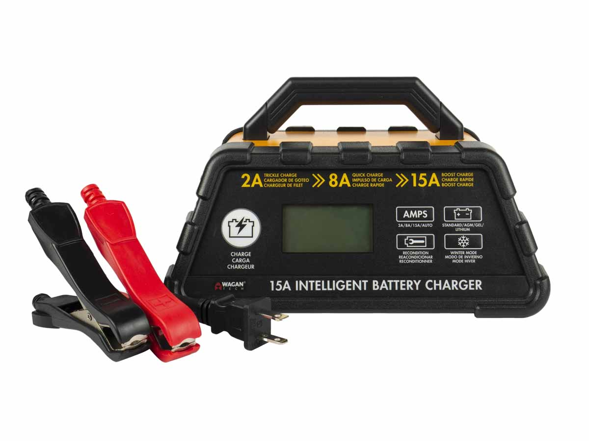 Intelligent Battery Charger front view