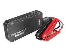 Wagan iOnBoost V10 TORQUE Jump Starter, Power Bank and LED Flashlight