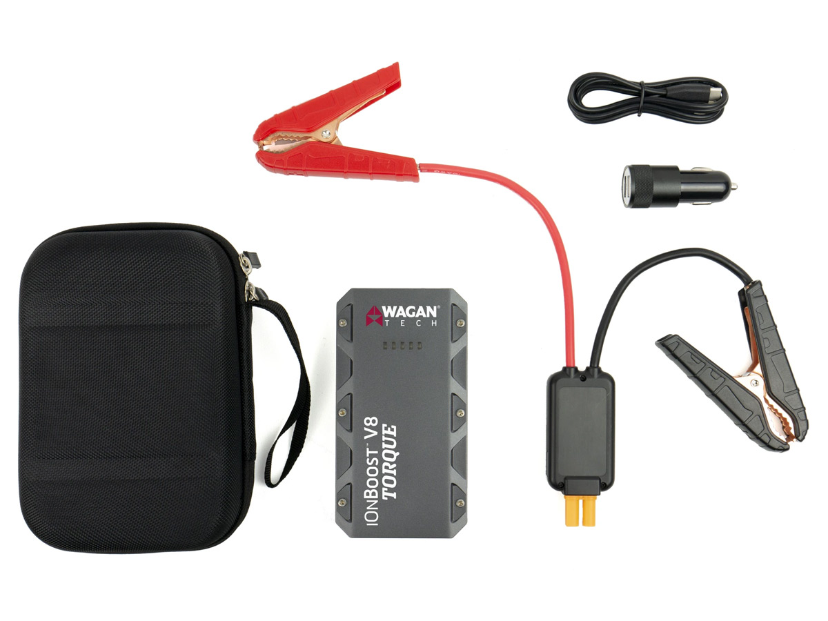wagan ionboost v8 torque package contents