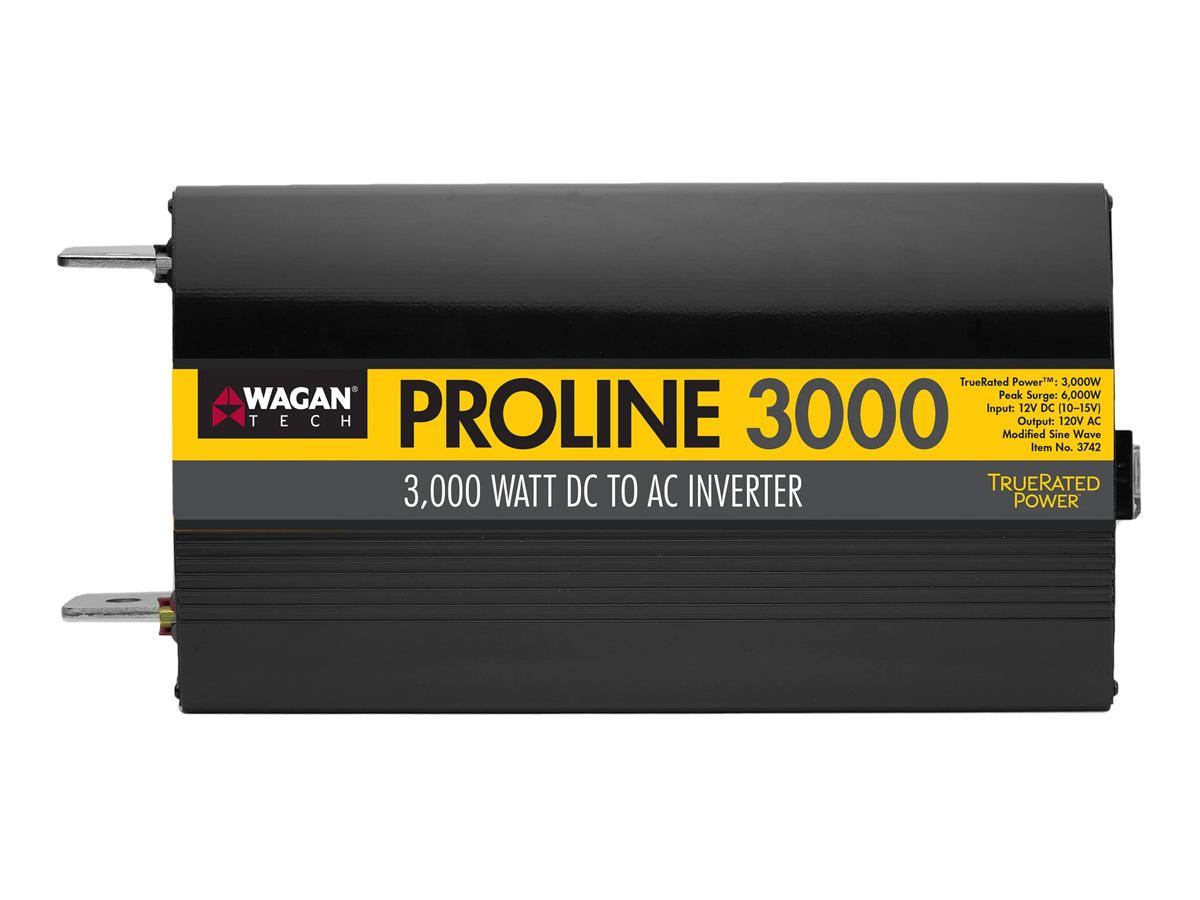 wagan proline 3000w inverter from above