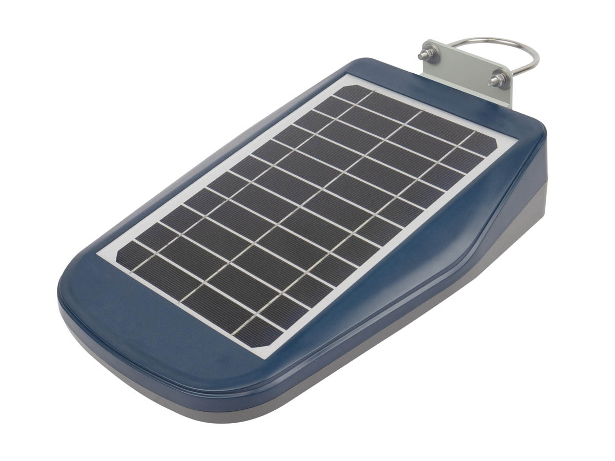 Wagan Solar LED Floodlight with Remote - 3000 Lumens - Includes Li-ion Battery Pack