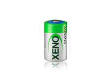 Xeno XL-050H 1/2AA 850mAh 3.6V High-Temp Lithium Thionyl Chloride (LiSOCI2) Button Top Battery - Bulk