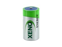 Xeno XL-145F-AX C-cell 8500mAh 3.6V Lithium Thionyl Chloride (LiSOCI2) Battery with Axial Leads - Bulk