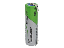Xeno XLP-060F AA 2400mAh 3.6V High Pulse Lithium Thionyl Chloride (LiSOCI2) Battery with Terminal Options