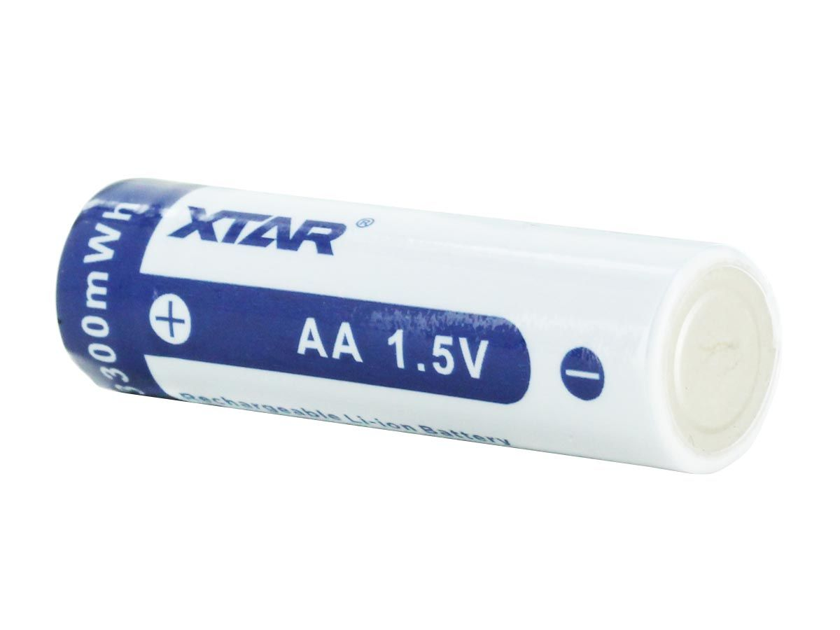 XTAR AA 2000mAh Li-ion 1.5V Battery - Diagonal 2