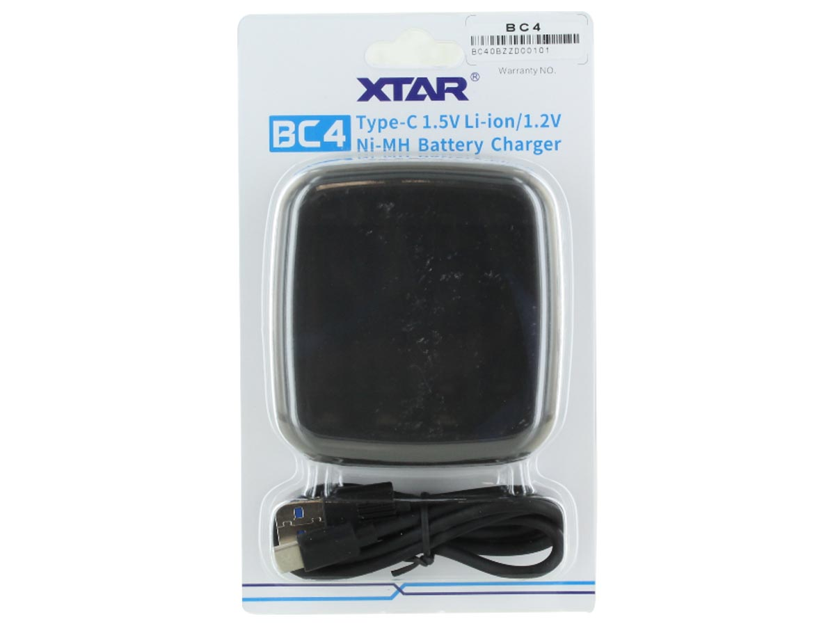 XTAR BC4 Charger for AA and AAA Batteries
