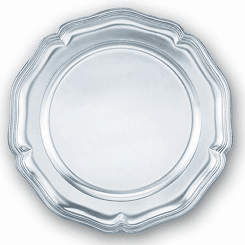DNL Pewter Chippendale Plate - 8 3/4 in.