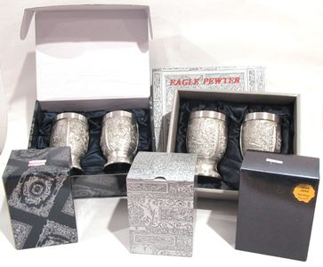 Eagle Pewter Packaging